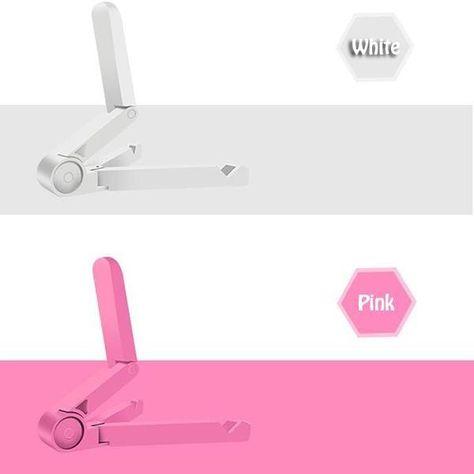Foldable Tablet Holder - Pink
