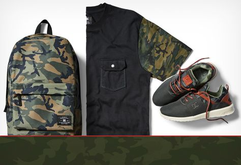 The Hyperion Camo collection draws inspiration from the