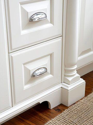 Easy Kitchen Updates, How To Add Furniture Legs Kitchen Cabinets