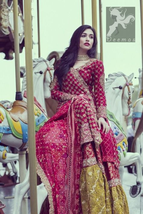 Check out latest Pakistani bridal nikah dresses collection There are varieties in Nikah dress designs. multi-colored as well as white Nikah dress on the wedding ceremony.