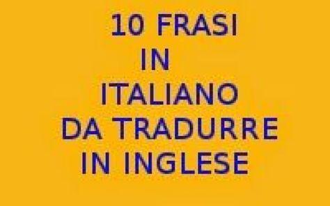 Prima Pagina Lingua Italiana Lingua Spagnola Lingua Inglese