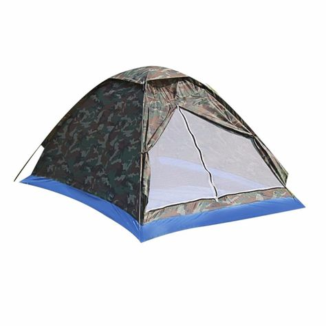 Type 1 2 Person Tent Style Camouflage Field Game Bottom Waterproof Index 1000 1500 Mm Pole Material Aluminum Outside Tent Wa Beach Tent Fishing Tent Tent