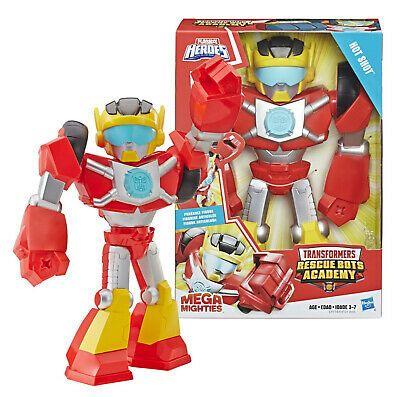 Advertisement Playskool Heroes Transformers Hot Shot Rescue Bots Academy Mega Mighties Nib In 2020 Rescue Bots Transformers Rescue Bots Baby Activity Center