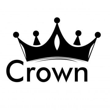 Black Crown Icon Vector Crown Clipart Crown Icons Black Icons Png And Vector With Transparent Background For Free Download In 2021 Silhouette Vector Clip Art Icon