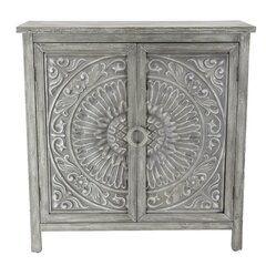 Bungalow Rose Ambriz 2 Door Accent Cabinet Reviews Wayfair In 2020 Accent Doors Accent Cabinet Grey Wood