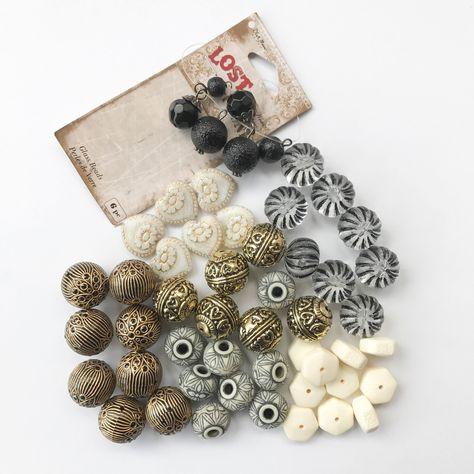 25 Silver Filigree Rope Design 17mm Round Metal Steampunk Craft Jewelry Beads