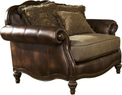 Ashley Claremore Chair & 1/2