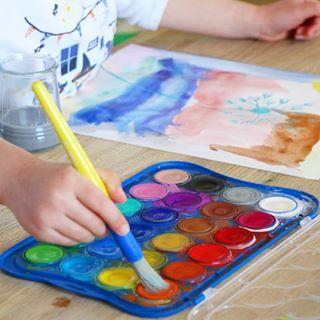 Riz Colore Recette Facile Et Rapide Activite Enfant Peinture