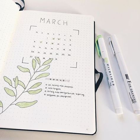 If you're looking for bullet journal monthly cover ideas, you should check these bullet journal ideas for every month of the year!