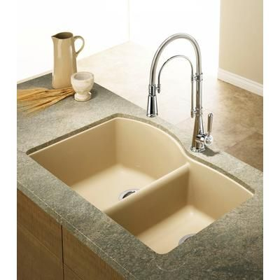 BLANCO   Silgranit, Natural Granite Composite Undermount Kitchen Sink,  Biscotti   SOP1218   Home Depot Canada | Ideas For The Home | Pinterest |  Biscotti, ...