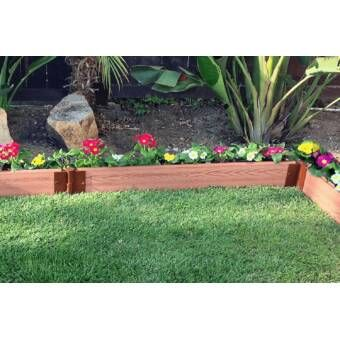 Tool Free Classic Sienna One Inch Series Tri Level 12 Ft X 12 Ft Composite Raised Garden Vegetable Garden Raised Beds Raised Garden Beds Building A Raised Garden