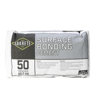 Quikrete Quikwall 50 Lb White Surface Bonding Cement 123050 The Home Depot In 2020