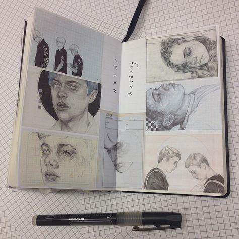 "caitmceniff: ""Naomi Hosking inspiration page - beautiful illustrations """