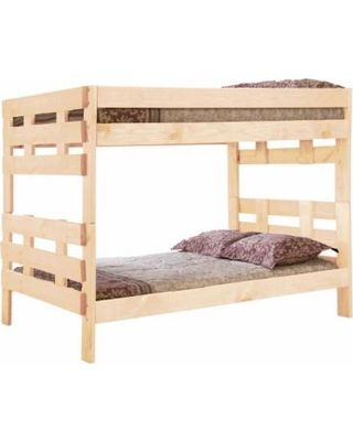 Sleep And Play Usa Jericho Extra Long Wooden Bunk Beds Unfinished