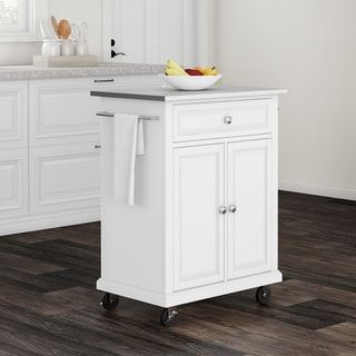 Overstock Com Online Shopping Bedding Furniture Electronics Jewelry Clothing More Portable Kitchen Island White Wood Kitchens Portable Kitchen