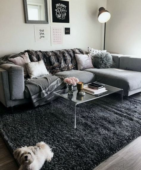 Comfy and also Elegant Small living room decoration ideas - Living room is one place in the house that ideal showcases our feeling of design for everyone to see. Find your ideas below to remodel your living room end up being much more comfy.  #livingroom #livingroomdecor #cozylivingroom #homedecor #interiordesign #livingroomideas