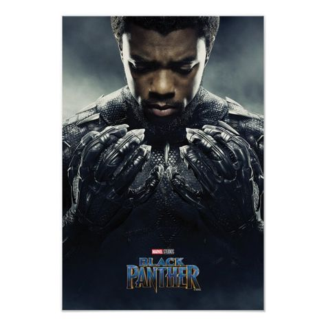 Black Panther Black Panther Character Poster