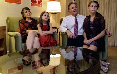 Carly Fiorina and family..