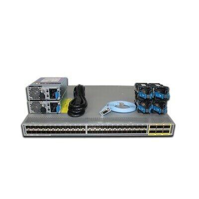 Cisco Nexus 3172pq 48p 10gbe Sfp 6p 40gbe Qsfp Switch N3k C3172pq 10ge Ebay In 2020 Nexus Cisco Ebay