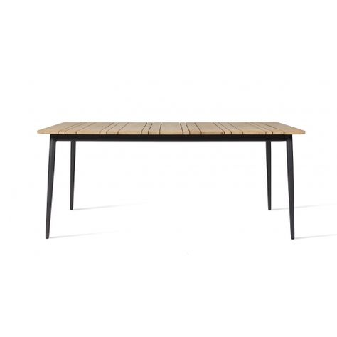 Vincent Sheppard Leo Dining Table Aluminium And Teak Aluminum Table Furniture Indoor Furniture
