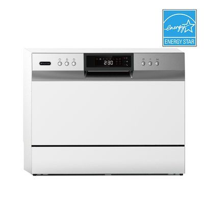 Whynter 22 45 Dba Countertop Full Console Dishwasher Countertop Dishwasher Portable Dishwasher Countertops