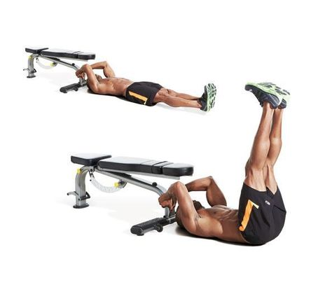 Image result for abs exercises leg raises