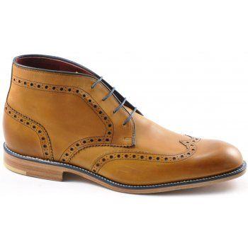 Mens 'Errington' Lace Up Boot Refined