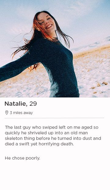 about me dating profile samples