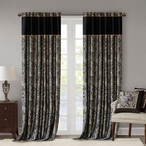 Comfort Bay Ashmont Panel 40 X 84 Curtains Dollar General