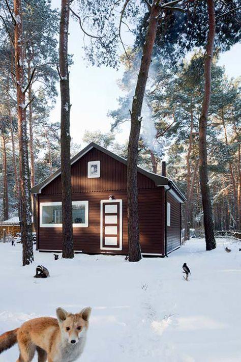 Waldhaus A weekend house in Brandenburg pine... | The Khooll