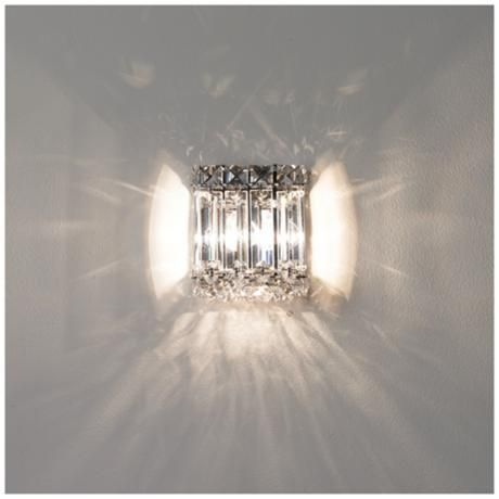 quantum collection high crystal wall sconce sconces walls for bedroom ebay uk
