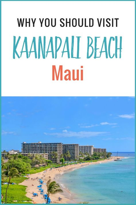 We loved Kaanapali Beach in Maui. It was the perfect spot for our family vacation in Hawaii. Here's why!