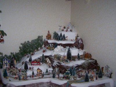 modèle de glaçons pour décor de noël | comment construire village