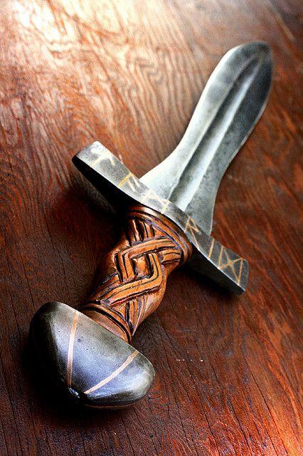 Halfling Sword 3 by Cedarlore Forge - (formerly Mad Dwarf Workshop), via Flickr
