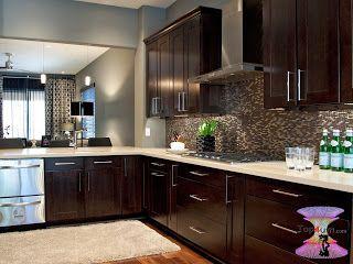 احدث موديلات مطابخ جديده 2019 Modern Kitchen Designs Pics Espresso Kitchen Cabinets Modern Kitchen Interior Design Kitchen