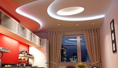 Modern Pop False Ceiling Designs For Kitchen Interior With Lighting Pop Design For Kitchen False Ceiling Design Pop False Ceiling Design False Ceiling