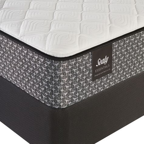 Sealy Essentials Cedarland Ltd Cushion Firm Mattress Box Spring Plush Mattress Mattress