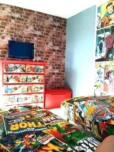Superhero Room Decor Marvel Room Decor Marvel Comic Bedroom Marvel