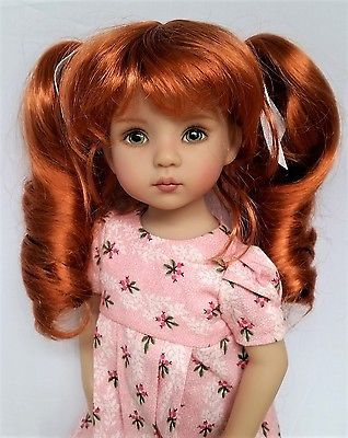 """Monique CIARA doll wig Size 7-8/"""" for MSD Little Darlings Liz Frost in 3 COLORS"""