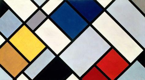 Theo van Doesburg, Contra-Composition XVI, 1925