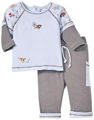 Kissy Kissy Baby Boys Playful Pups Pant Set Blue03 Months Want To Know More Click On The Image This Is An Aff With Images Baby Boy Outfits Boy Outfits Boys Sleepwear