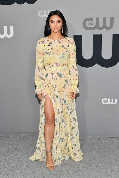 Camila Mendes attends the 2018 CW Network Upfront at The London Hotel.
