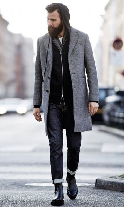 99 Stylish Winter Outfit Ideas For Men 50S That Trend 2019