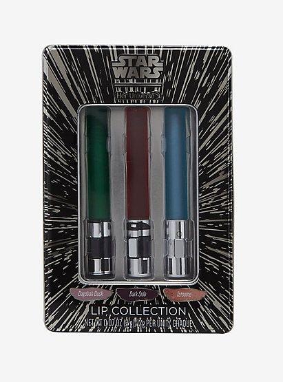 Her Universe Star Wars Lightsaber Lip Collectionher Universe Star Wars Lightsaber Lip Collection Star Wars Light Saber Kids Makeup Lightsaber