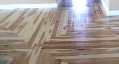 Wood Floor Of The Week Hickory Install In Mansion Mirrors The Ceiling Wood Floor Installation Flooring Wood Floors
