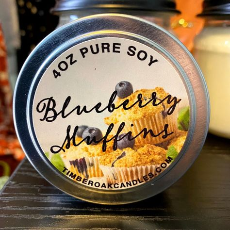 American made using only pure soy wax, hand picked aromas from exquisite essential and fragrance oils. Wicks are made of high-temperature paper and cotton. Candles are hand poured in a candle barn located in Missouri. Blueberry Muffin-Inviting aroma of delicious ripe blueberries baked in a mouthwatering batter. Clean burning Longer burn time A renewable resource (soybeans) 100% pure, NO additives Biodegradable and easy to clean-up with soap and water Free from pesticides, herbicides and genetica