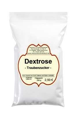 Dextrose Glucose Traubenzucker Fleischerei Metzger