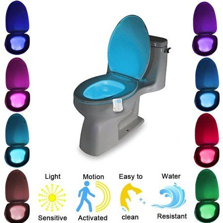 Home Led Color Changing Lights Bathroom Night Light Color Changing Led