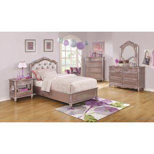 Harriet Bee Cremont Twin Platform Configurable Bedroom Set Wayfair Upholstered Bedroom Set Bedroom Set Upholstered Bedroom