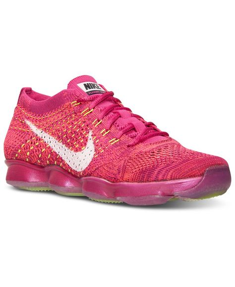 quality design b1eba 85dca Nike Women s Flyknit Zoom Agility Training Sneakers from Finish Line